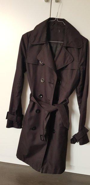 schwarzer Trenchcoat- NEU!
