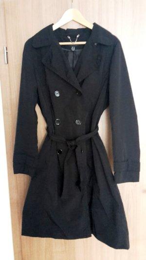 Schwarzer Trenchcoat von H&M