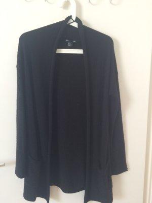 Schwarzer, warmer Cardigan von H&M