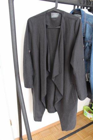 Bershka mantel schwarz