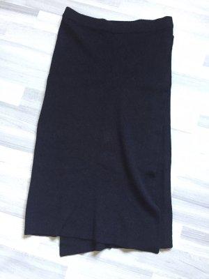 Vila Wraparound Skirt black