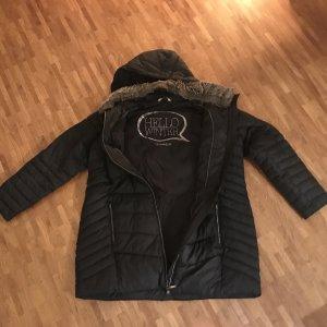 Triangle Manteau d'hiver noir