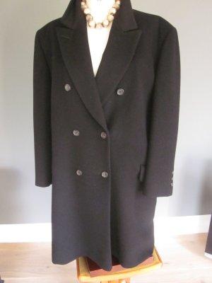 Jobis Wollen jas zwart Scheerwol