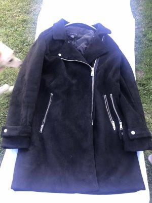 Amisu Abrigo de invierno negro