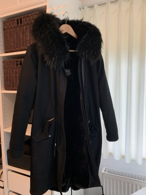 We Love Furs Pelt Coat black