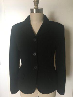 Schwarzer Woll-Blazer