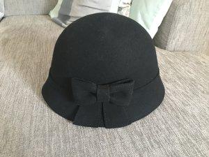C&A Sombrero de fieltro negro Lana