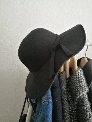schwarzer Wollhut von TKMaxx