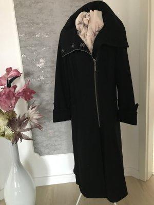 Maxima Fashion Manteau long noir laine