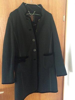 NVSCO Manteau en laine noir