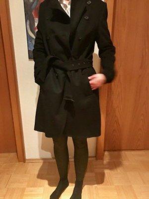 Windsor Wollen jas zwart Wol