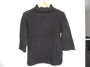 schwarzer Wollpullover von H&M Größe S/M