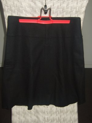 Marc O'Polo Wool Skirt black wool