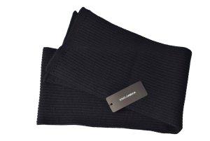 schwarzer Wollschal Dolce & Gabbana