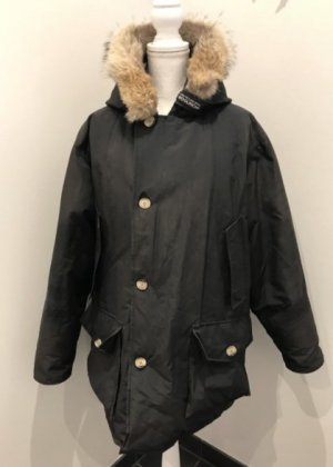 Woolrich Down Coat black-anthracite