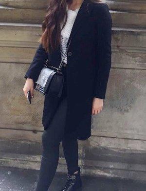 Zara Cappotto stile pilota nero