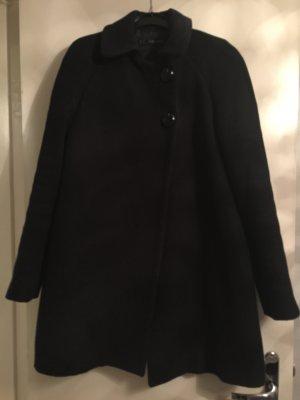 schwarzer Zara Mantel XS