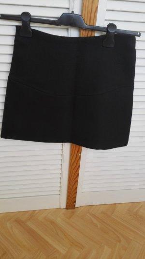 schwarzer Zara Midirock Größe 36