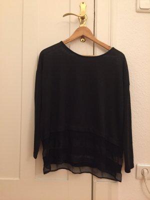 Schwarzer Zara Pullover Größe L