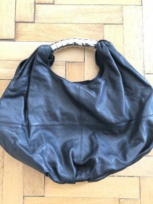 Zara Sac noir cuir