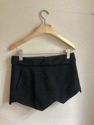 Zara Basic Culotte Skirt black