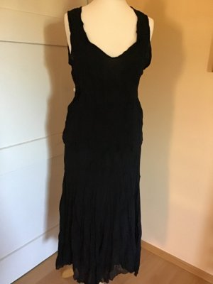 Midi Dress black mixture fibre