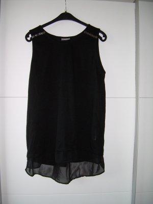schwarzes A-Linie-Top Gr. L 42/44 sexy Rücken von Yessica