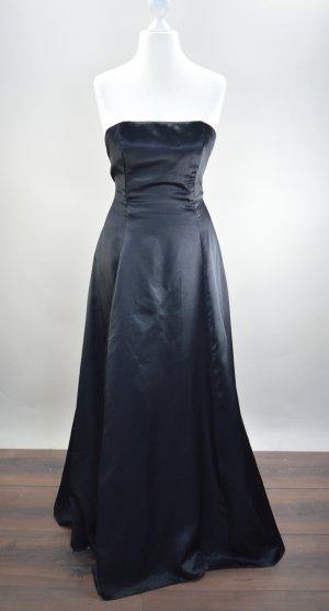 Schwarzes Abendkleid Ballkleid Größe S