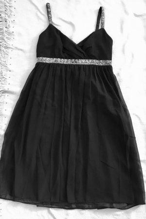 Angie Robe de soirée noir-argenté