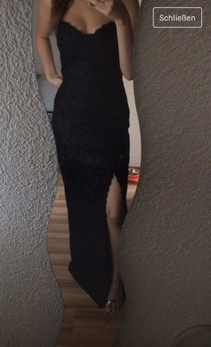 Boohoo Evening Dress black