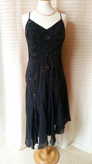 Schwarzes Abendkleid Gr. 38
