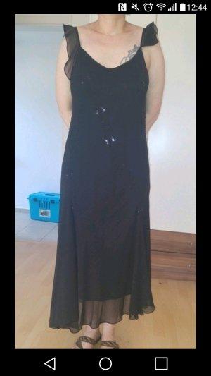 Schwarzes Abendkleid Gr. 44 Neu!