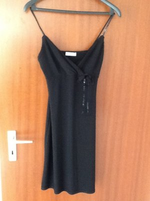 Schwarzes Abendkleid/ kurz/ figurbetont in Gr. S