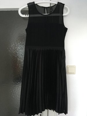 Schwarzes Abendkleid / Pleated Cocktaildress von Maison Scotch