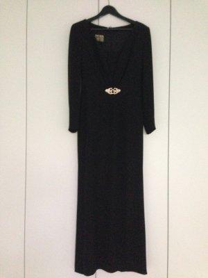 Schwarzes Abendkleid von Escada aus Seide