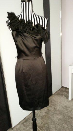 Yessica One Shoulder Dress black