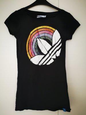 schwarzes Adidas Originals T Shirt Gr.34