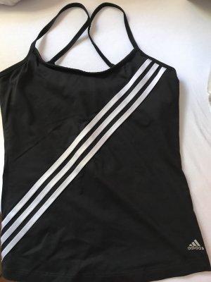Schwarzes Adidas Trainingstop