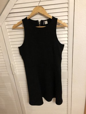 H&M Cut Out Dress black