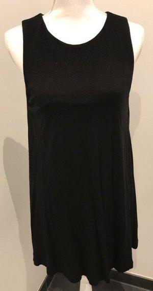 Schwarzes alinien-Kleid von h&m