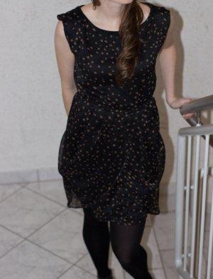 schwarzes ASOS Kleid Weihnachten Sylvester Gr. S/38