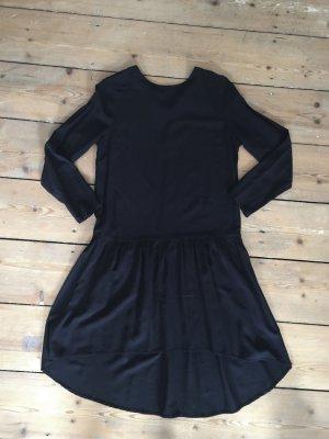 Schwarzes asymmetrisches Kleid NEU