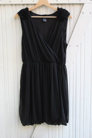 H&M Balloon Dress black