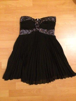 Schwarzes bandeau Kleid dress von Rare gr S wie neu