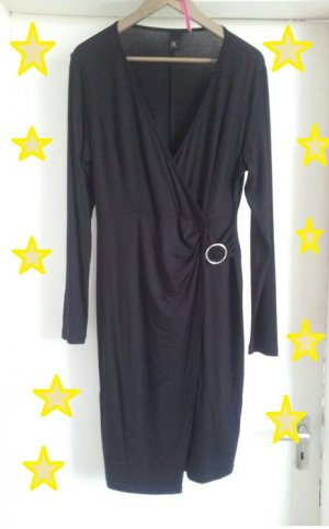 Best Connections Longsleeve Dress black-silver-colored