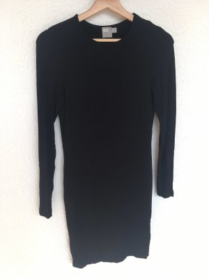 schwarzes basic kleid von asos