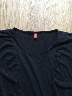 Schwarzes Basic Shirt von Esprit Größe M