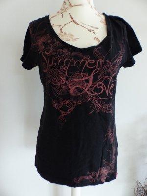 schwarzes Basic T-Shirt / Shirt von Esprit Summer - Size L