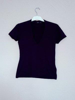 schwarzes Basic T-Shirt von Zero