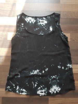 Batik shirt zwart-wit